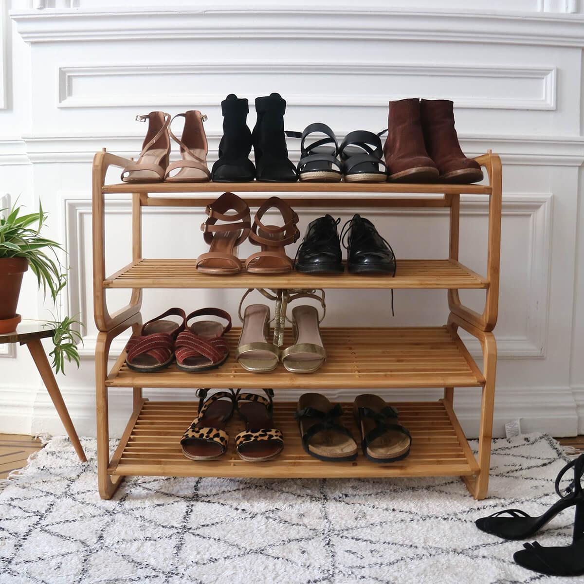 Rangement Chaussures Etageres Organisateurs Boites Compactor